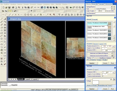 the library of procedures softwaremacro tileacad is totally integrated in environment family autocad ver20002012 and it allows to seek to extract